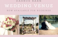 WEDDING VENUE DASBOS BARN AT THE PENDENNIS FARM