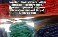 HEAVY DUTY TARPAULINS & CARGO NETS FOR SALE ,ALL COLOURS , ALL SIZES