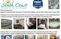 Affordable self-catering holiday accommodation on the South Coast with private play system for the kids
