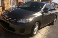 Car Hire/Rental - 2013 Toyota Corolla 1.6 Advanced