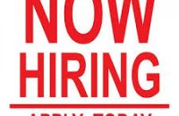 Restaurant and hotel waiters and waitress wanted